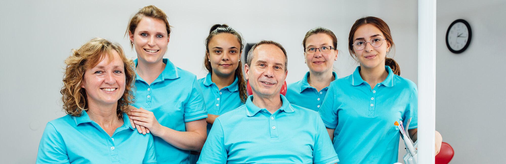 Zahnarzt Leipheim - Manuel Braun - Slider Team